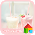 strawberry vanilla dodol theme icon