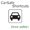 CarSafe Shortcuts logo