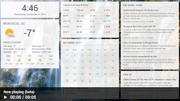 Screenshot of Dashboard Cast