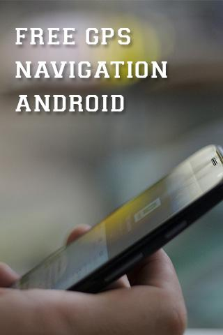 【免費工具App】免费的GPS导航ANDROID-APP點子