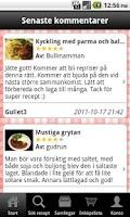Screenshot of Kokaihop.se recept