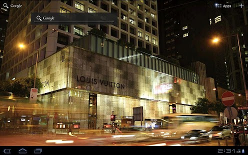 LV Shop Night Live Wallpaper - screenshot thumbnail