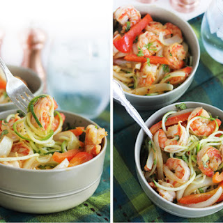 Cajun Garlic Shrimp Noodle Bowls