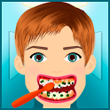 teeth clean games icon