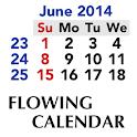 Flowing Calendar icon