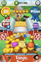 Screenshot of Farm Coin Dozer for Tango