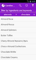 Screenshot of Homemade Candies Recipes