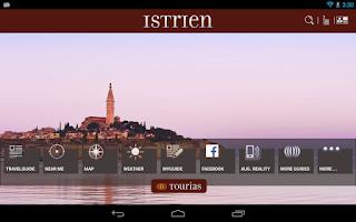 Screenshot of Istria Travel Guide - Tourias