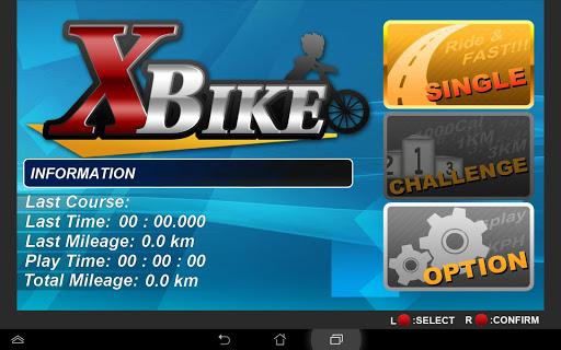 XBIKE Game-Bike Version