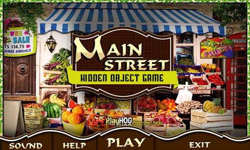 Main Street Free Hidden Object