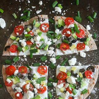 Greek Vegetable Pizza and a $200 GIVEAWAY!