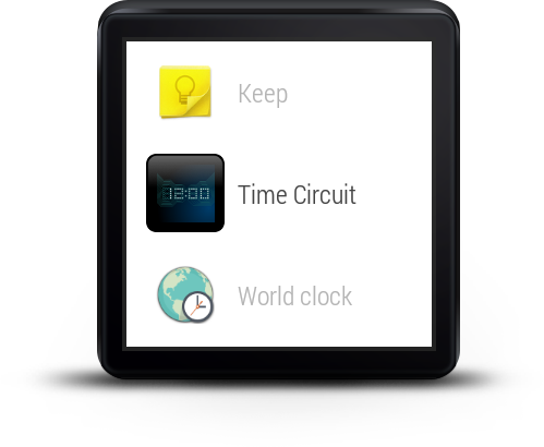 Wear Time Circuit - Watch Face- screenshot