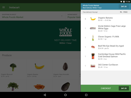 Instacart: Grocery Delivery 5.7.4 screenshots 8