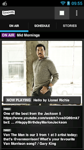 Smooth Radio - screenshot thumbnail