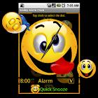 Smiley Alarm Clock Widget icon
