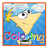 Phineas Boy Coloring Game Kids
