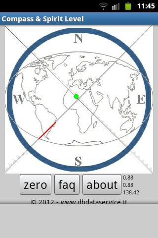 Compass Spirit Level