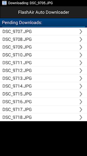 FlashAir Auto Downloader TRAIL