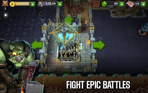 بازی مامور دروازه Dungeon Keeper v1.0.33