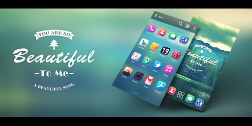 iPhone 5 Go launcher Ex Theme 1.0 theme for Android_Android Themes,Free Android themes,Free Android