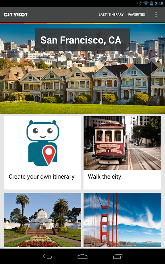 Citybot Smart Travel Guide - screenshot