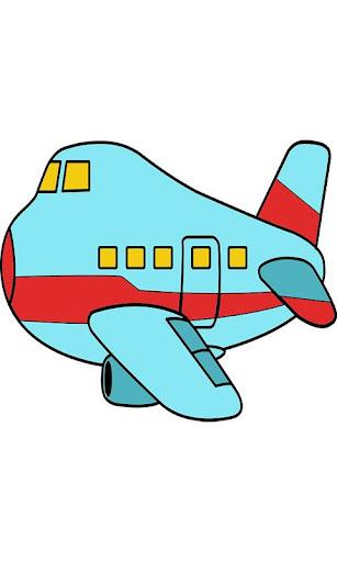 Simulator Fly Plane Paint