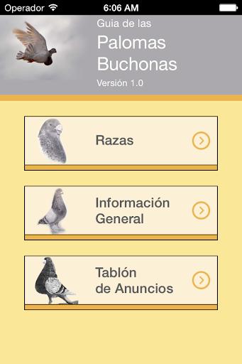 Guía de las Palomas Buchonas