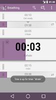 Screenshot of Yoga Timer