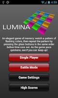 Screenshot of Lumina