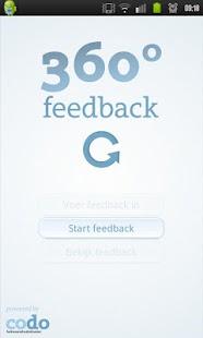 CODO 360 graden feedback - screenshot thumbnail