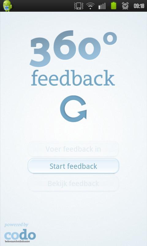 CODO 360 graden feedback - screenshot