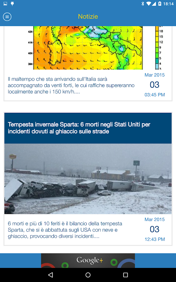 Meteo Life- screenshot