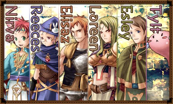 RPG Cross Hearts Arcadia