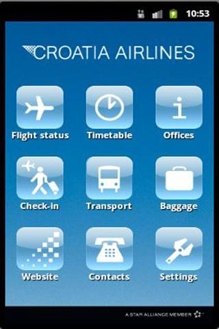 Croatia Air - screenshot