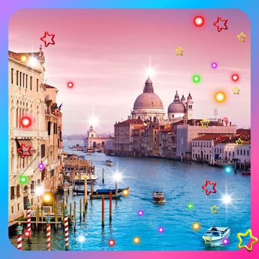 Venice Flowers live wallpaper LOGO-APP點子