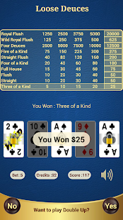 Loose Deuces Poker - screenshot thumbnail