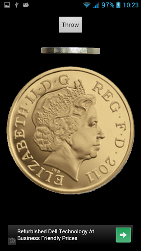 Heads or Tails with one Pound