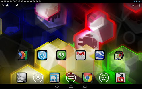 Nexus 7 Nova SF Theme - screenshot thumbnail
