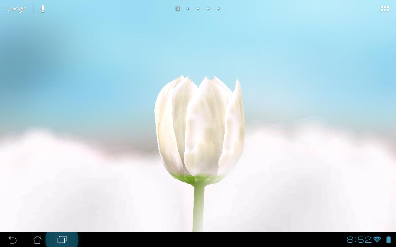 3D Tulip Live Wallpaper- screenshot
