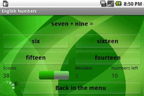 Learn English Numbers- screenshot thumbnail