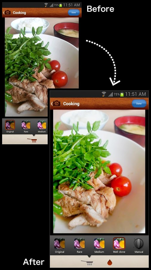 SnapDish Food Camera - screenshot