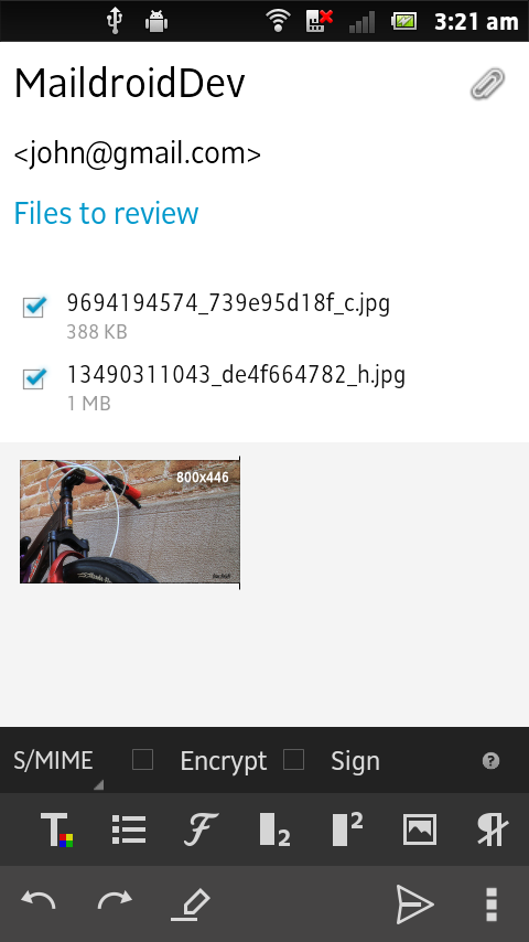 MailDroid Pro - Email App- screenshot