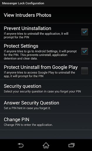 Messenger and Chat Lock PRO  screenshots 3
