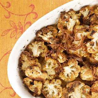 Cardamom-Roasted Cauliflower.