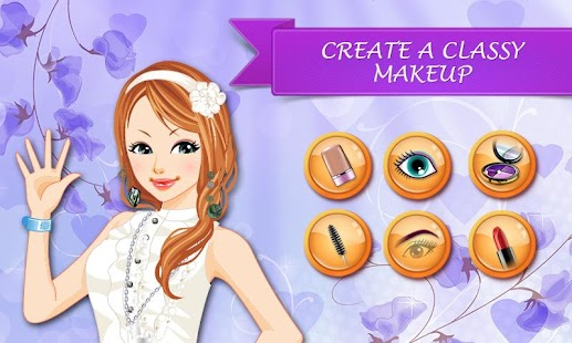 Prom Hair Salon – Girl Makeup