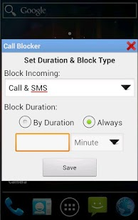Logic Call and SMS Blocker- screenshot thumbnail