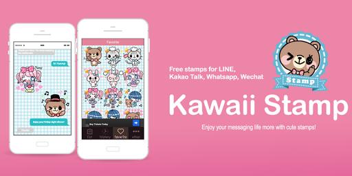 Kawaii Sticker for Wechat LINE