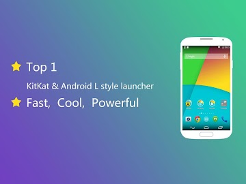 KK Launcher (Lollipop &KitKat) Screenshot 1
