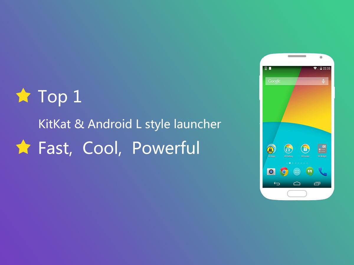 KK Launcher(KitKat,L launcher) - screenshot