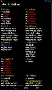 German Verbs Pro Screenshot